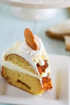 Pair this delicious Banana Pudding Bundt Cake dessert recipe with a hot cup of coffee or cool glass of milk for a tasty evening snack.