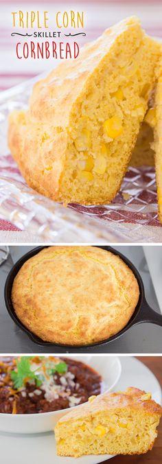 this skillet cornbread looks delicious!
