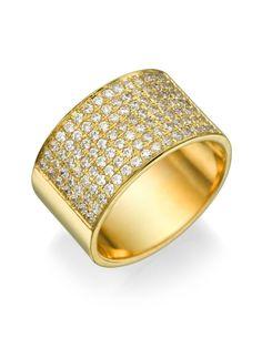 New to shireeodiz on Etsy: 14k Yellow Gold Classic Flat Wedding Ring  0.84 carat Diamond Unisex Band  Semi-eternity Diamonds Studded Band Bridal Jewelry Sizable (1500.00 USD)