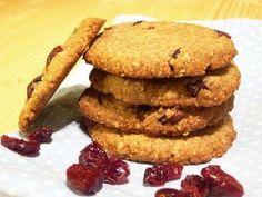 Zabkorpás áfonyás keksz Paleo, Biscuits, Clean Eating, Cookies, Baking, Breakfast, Recipes, Fitt, Blog