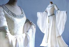 Elf dress wedding dress ARLIA Lord of the Rings by Elfenkleider