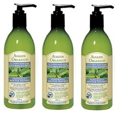 Avalon Organics Glycerin Hand Soap Peppermint 12 Ounce Pack of 3 >>> For more information, visit image link.