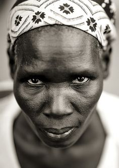 Miss Atur, Anuak woman in Dima, Ethiopia by Eric Lafforgue, via Flickr