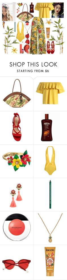 """""""Senza titolo #6499"""" by waikiki24 ❤ liked on Polyvore featuring Patricia Nash, Chicwish, Gianvito Rossi, MAC Cosmetics, Betsey Johnson, ADRIANA DEGREAS, Elizabeth Cole, NYX, Elizabeth Arden and Marc Jacobs"""