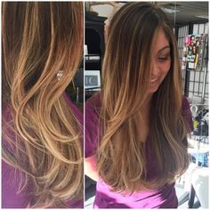 Balyaged her with BlondeMe 40volume Used Redken Shades Eq 8n and 8gi with clear for 20 min.
