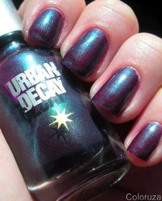 Nails Urban Decay Bruise Coloruza Nail Art Cosmetics