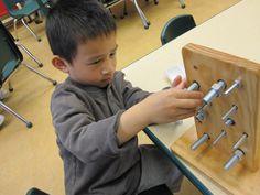 woodworking with preschoolers