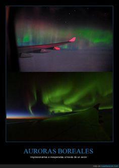 Show visual en el cielo - Impresionantes e inesperadas a través de un avión   Gracias a http://www.cuantarazon.com/   Si quieres leer la noticia completa visita: http://www.skylight-imagen.com/show-visual-en-el-cielo-impresionantes-e-inesperadas-a-traves-de-un-avion/