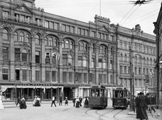Tallberg Building on Aleksanterinkatu, Finland Helsinki, Map Pictures, Scandinavian Countries, Time Travel, Old Photos, Louvre, Street View, City, Outdoor