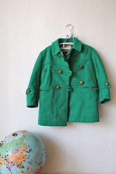 Toddler Wool Coat http://www.babycomeback.etsy.com