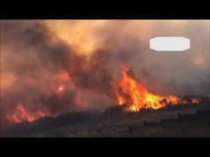 Presencia_RD - Un gran incendio se desata cerca de la base de la OTAN en Esmirna, Turquia (video)