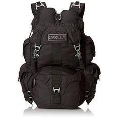 Oakley Men s Mechanism Backpack Black One Size  Oakley  Backpack Oakley Bag d755a58fabf91