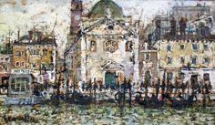 983 - Venezia - le Zattere -  74 x 43