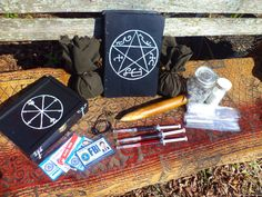 Supernatural Prop Collection Hunter Kit curse box by HoodooEtc