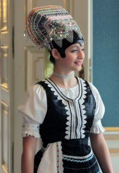 Tekov folk costume, Slovakia