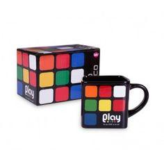 Caneca quadrada - Cubo mágico diferente aqui, na mk mania presentes criativos - MK Mania Presentes Criativos