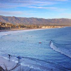 Views from Shoreline Park in Santa Barbara.