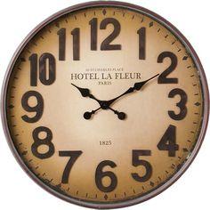 64d08ca31 Designové obrovské velké dřevěné hodiny JVD HT075.1 (dub) | House ...