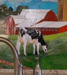 1000 images about Mosaic cows