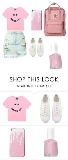 """""""Pink outfit"""" by elzikaa on Polyvore featuring Essie"""