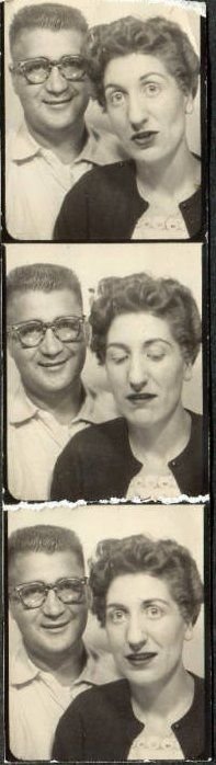 Giant Photo Booth Pictures- go online to Staples, upload photos and order the… Vintage Photo Booths, Vintage Photo Album, Vintage Photographs, Vintage Images, Love Photos, Cool Pictures, Contact Sheet, Photos Booth, Engineer Prints