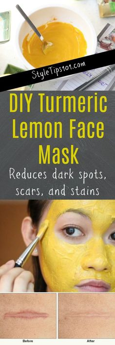 Turmeric Lemon Face Mask