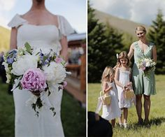 peony bouquet. spring wedding, sun valley Idaho.  Planning and design by Taylor'd Events