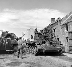 """""""Annihilation Of The Falaise Pocket"""" August 1944 From the LIFE Magazine Archives - George Rodger Photographer D Day Normandy, Normandy Beach, Panther, Military Photos, Military History, Churchill, Cromwell Tank, Ww2 Photos, Ww2 Tanks"""