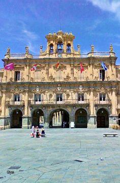 Plaza Mayor de Salamanca, España