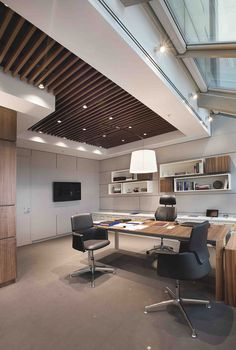 Office Design Corporate Business is very important for your home. Whether you pick the Corporate Office Interior Design or Professional Office Decorating Ideas, you will create the best Office Design Corporate Workspaces for your own life. Corporate Office Design, Modern Office Design, Office Furniture Design, Corporate Interiors, Office Interior Design, Office Interiors, Home Interior, Corporate Business, Law Office Design