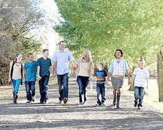 Wheeler Historic Farm. Salt Lake City family session, family of 8 Photo Credit: Charis Johnson Photography