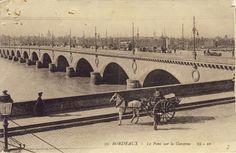 Carte postales anciennes bordeaux boats pinterest bordeaux cartes postales et postale - Bassin effet miroir toulon ...