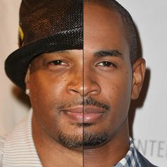 Damon Wayans And Damon Wayans Jr. Damon Wayans and his son look almost identical, right down to the style of facial hair.