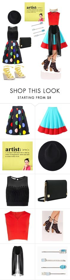 """""""Artistic pop"""" by glamorous-travel on Polyvore featuring Miss Selfridge, Melie Bianco, Theory+, Missguided and Charlotte Russe"""