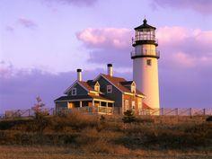 Cape Cod Lighthouse Truro Massachusetts
