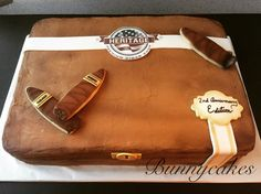 Humidor cigar box red velvet cake by Bunnycakes 😊