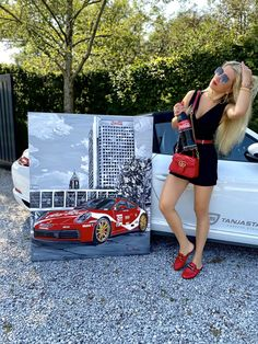 LinkedIn Car Painting, Coca Cola, Porsche, Backdrops, Paintings, My Love, My Boo, Coke, Painting Art