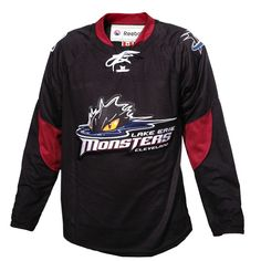lake erie monster | Youth Lake Erie Monsters 3rd Replica Jersey