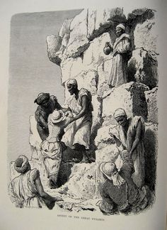 size: Giclee Print: Climbing of the Pyramid, Egypt, 1880 by BH Fiedlen : Archaeology, Old Photos, Egyptian, Find Art, Framed Artwork, Giclee Print, History, Antiques, Climbing