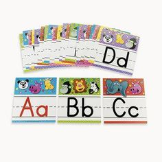 Zoo Animal Alphabet Letter Set - Teacher Resources & Bulletin Board Supplies #Glimpse_by_TheFind