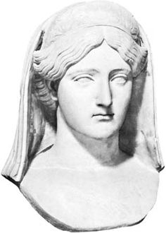 Bust of Livia, wife of Augustus.Caesar and mother to Roman Emperor Tiberius.