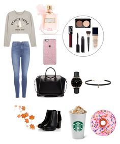 """""""Autumn🍁🍁🍁🍁🍁"""" by milafashion-35 ❤ liked on Polyvore featuring Paige Denim, Givenchy, Christian Dior, Chanel, NARS Cosmetics, Topshop, Carbon & Hyde, Victoria's Secret and Iscream"""