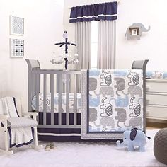 Little Bedding by NoJo Newborn Boy/'s Play time Playtime Musical Mobile