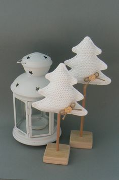 Instructions for crocheted tree