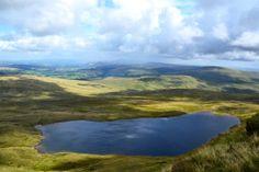 Lyn-y-Fan Fach & Llyn-y-Fan Fawr lakes, Brecon Beacons National Park, Wales, United Kingdom