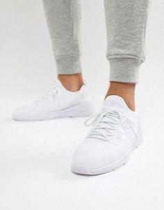 adidas Originals Herren Sneaker Pharell Williams Tennis Hu Primeknit Weiss (10) 4513