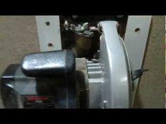 Serra Esquadrejadeira Caseira (homemade sliding table saw) - YouTube