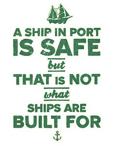 I used to think this was true until I read that many of the ships' accidents happened in port, especially when anchor cables broke.