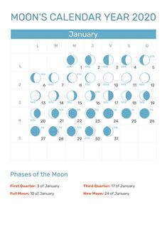 Moon Phase Calendar Printable February 2020 12 Best 200+ January 2020 Calendar images | Blank calendar