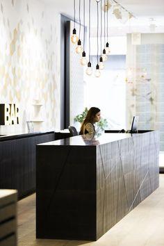 STunning Bar/Reception designed by Mark Taylor Design.